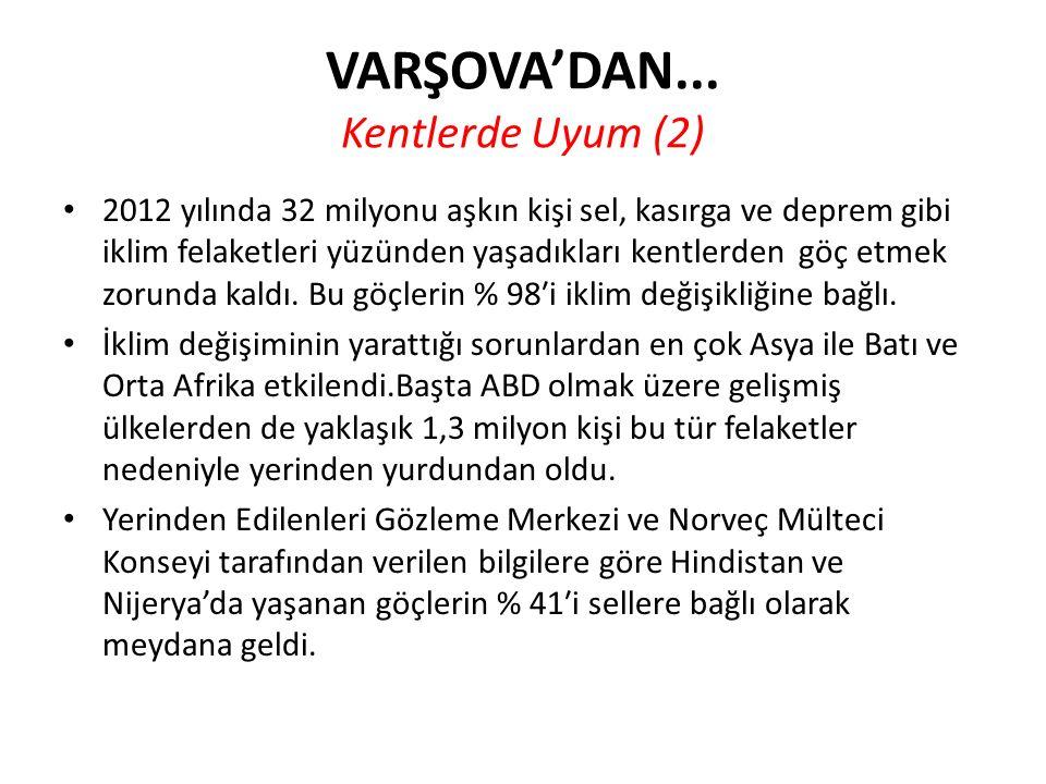 VARŞOVA'DAN... Kentlerde Uyum (2)