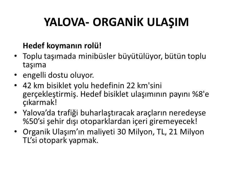 YALOVA- ORGANİK ULAŞIM