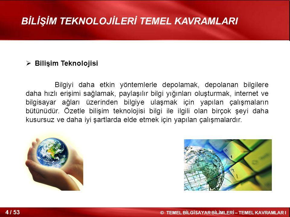 Bilişim Teknolojisi