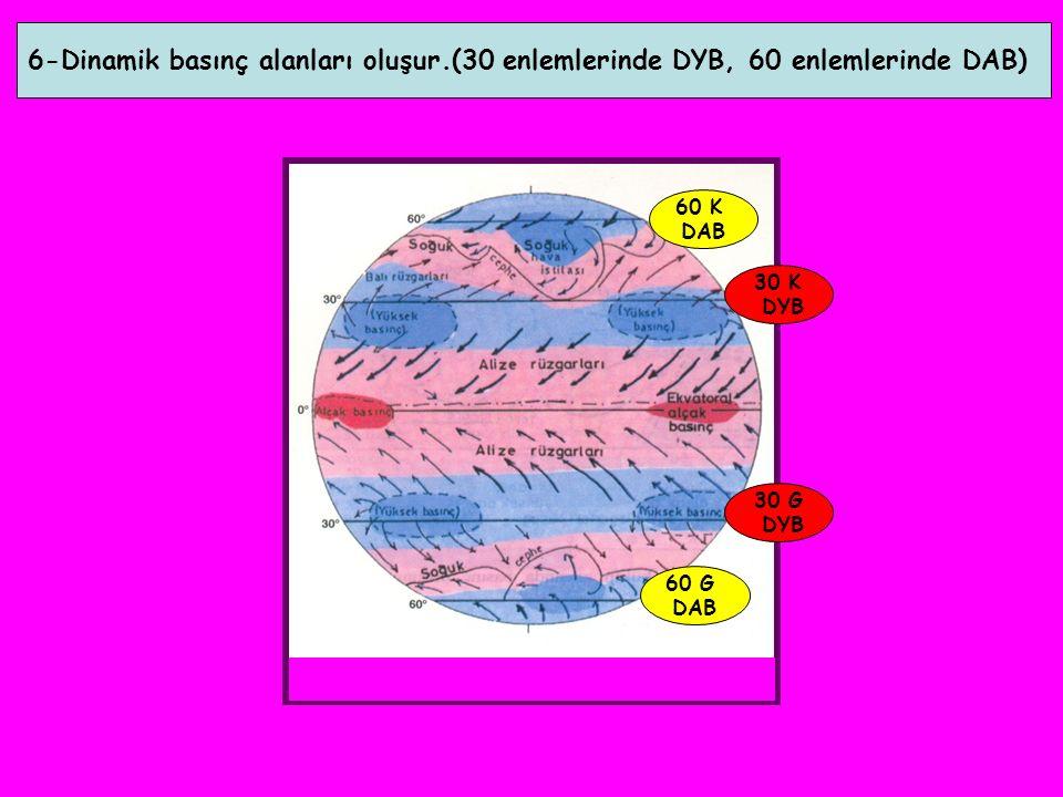 6-Dinamik basınç alanları oluşur