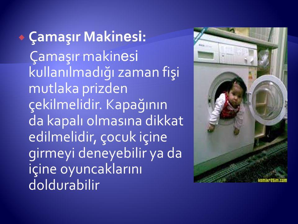 Çamaşır Makinesi: