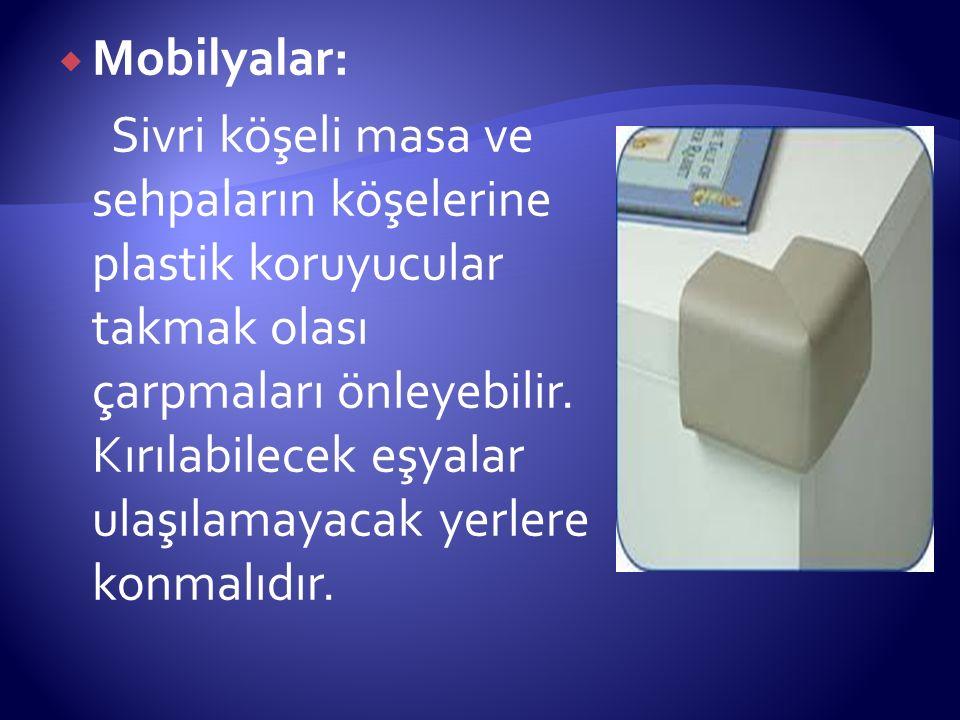 Mobilyalar: