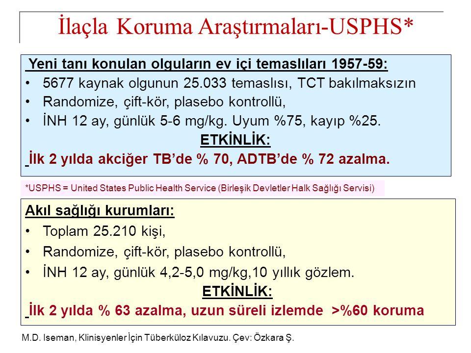 İlaçla Koruma Araştırmaları-USPHS*