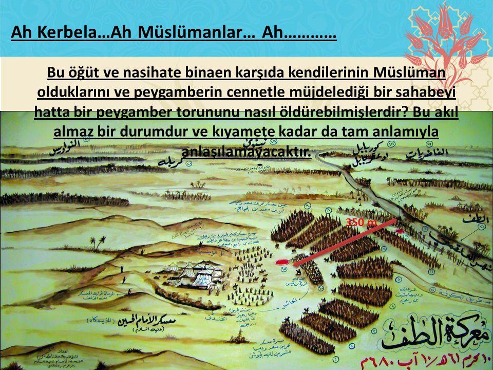 Ah Kerbela…Ah Müslümanlar… Ah…………
