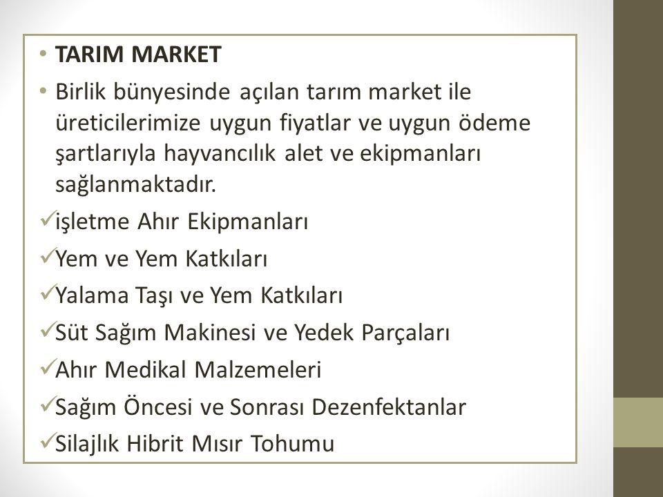 TARIM MARKET