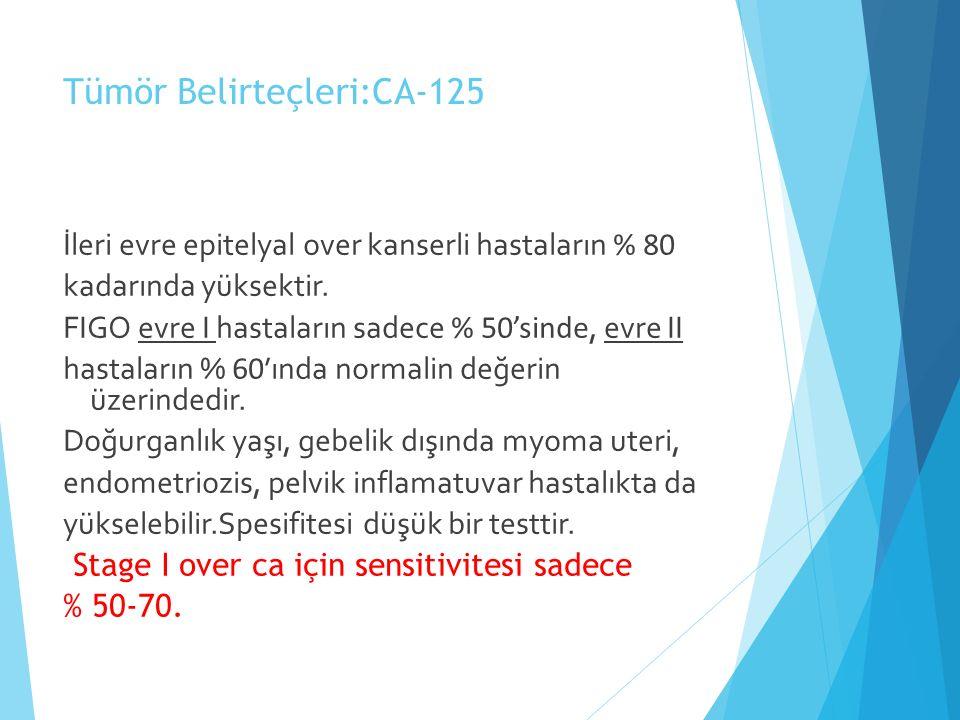 Tümör Belirteçleri:CA-125