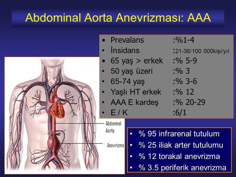 Abdominal Aorta Anevrizması: AAA