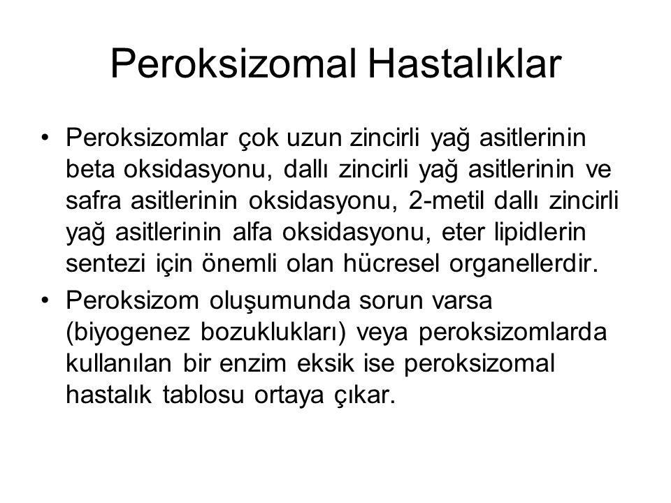 Peroksizomal Hastalıklar