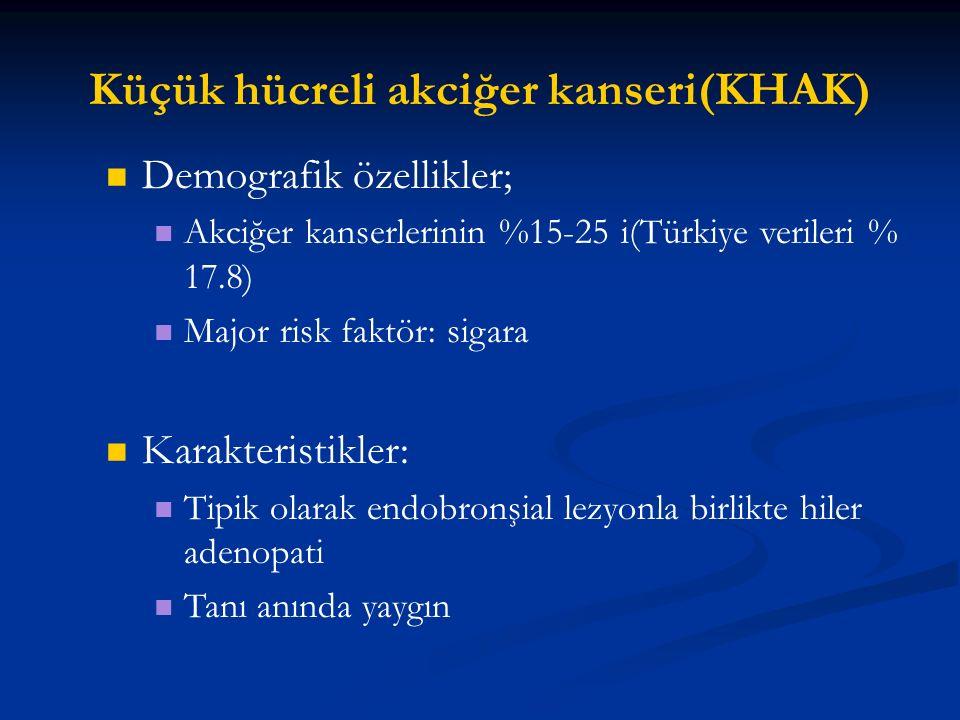 Küçük hücreli akciğer kanseri(KHAK)