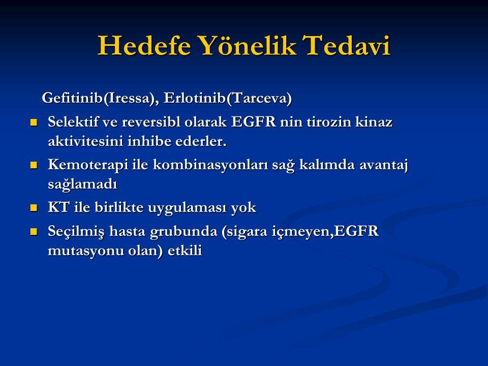 Hedefe Yönelik Tedavi Gefitinib(Iressa), Erlotinib(Tarceva)