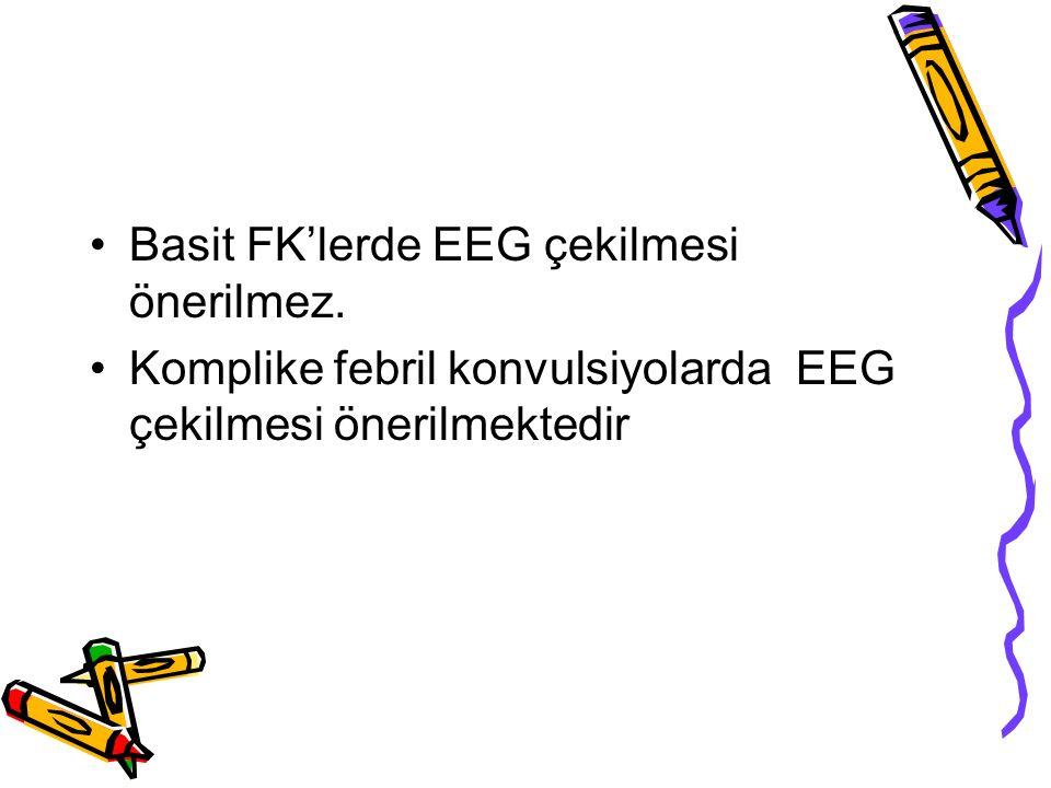 Basit FK'lerde EEG çekilmesi önerilmez.