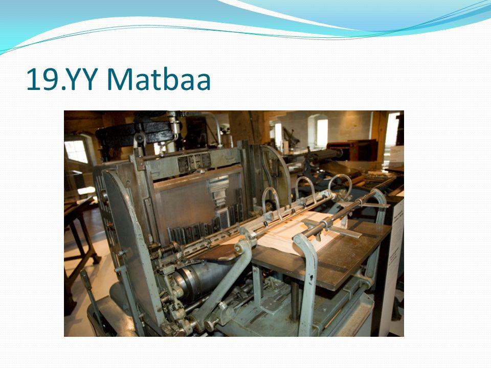 19.YY Matbaa