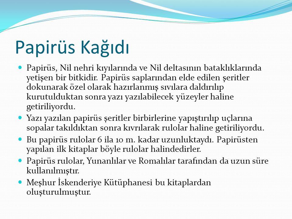 Papirüs Kağıdı