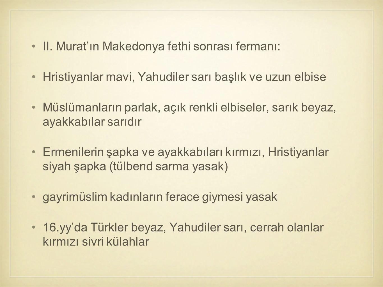 II. Murat'ın Makedonya fethi sonrası fermanı: