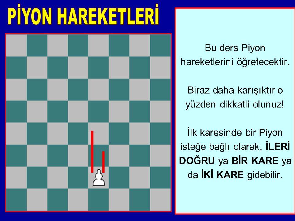 PİYON HAREKETLERİ