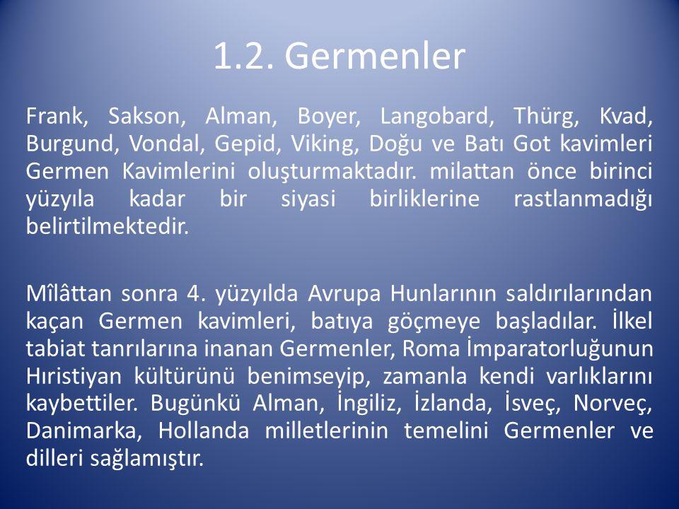 1.2. Germenler