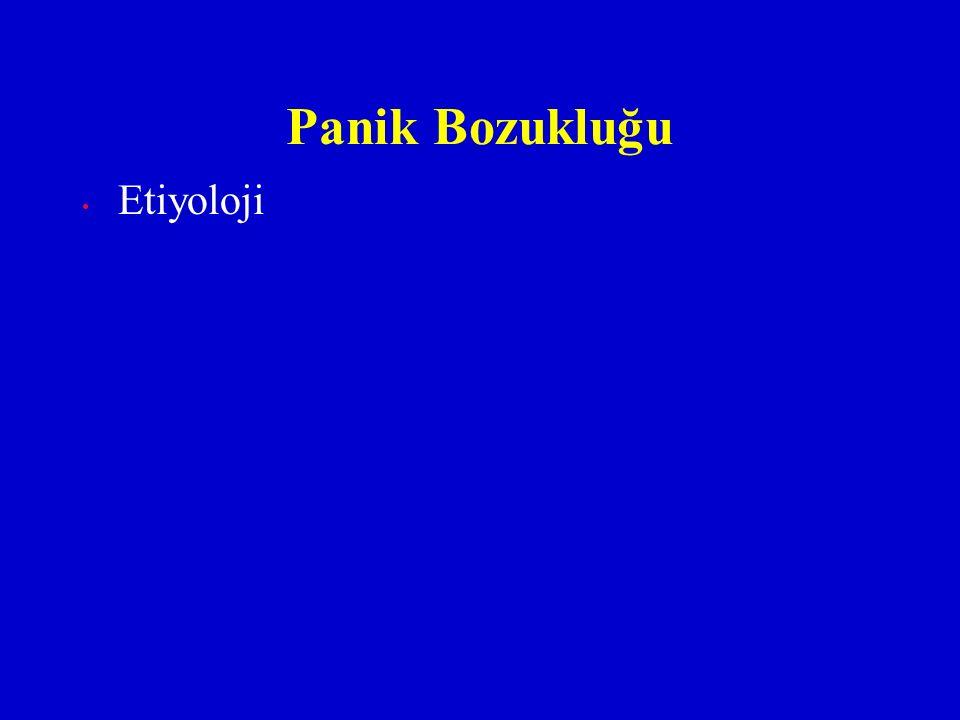 Panik Bozukluğu Etiyoloji