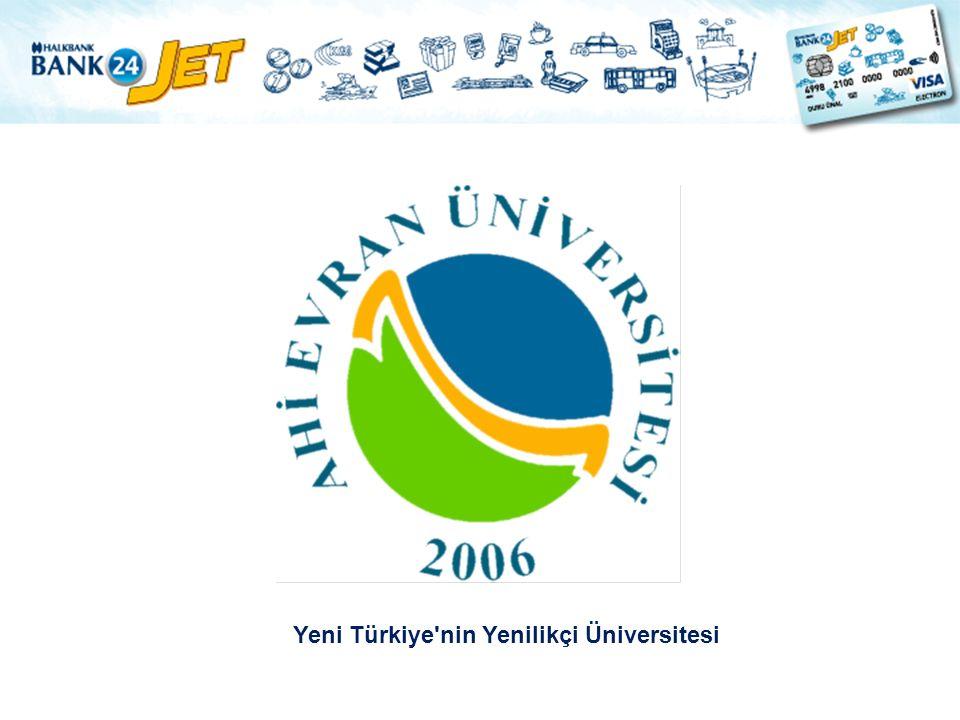 Yeni Türkiye nin Yenilikçi Üniversitesi