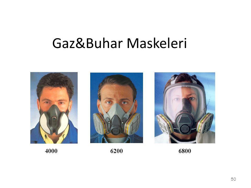 Gaz&Buhar Maskeleri 4000 6200 6800
