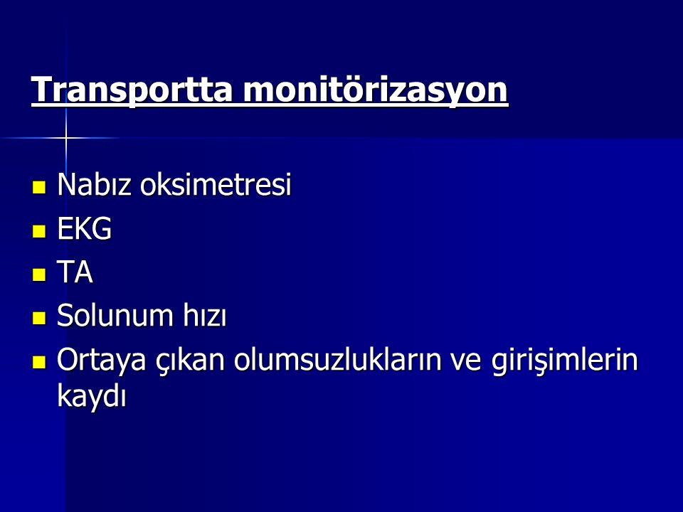 Transportta monitörizasyon