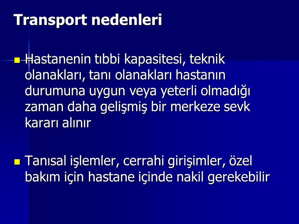 Transport nedenleri