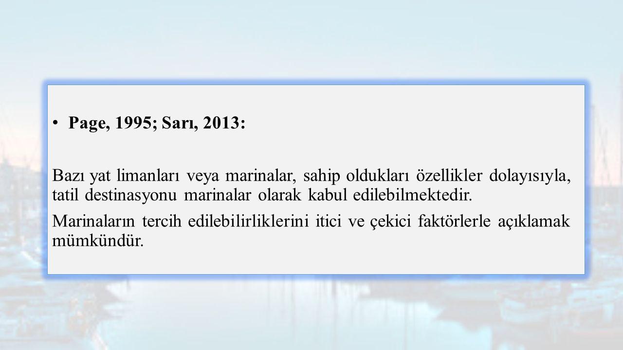 Page, 1995; Sarı, 2013: