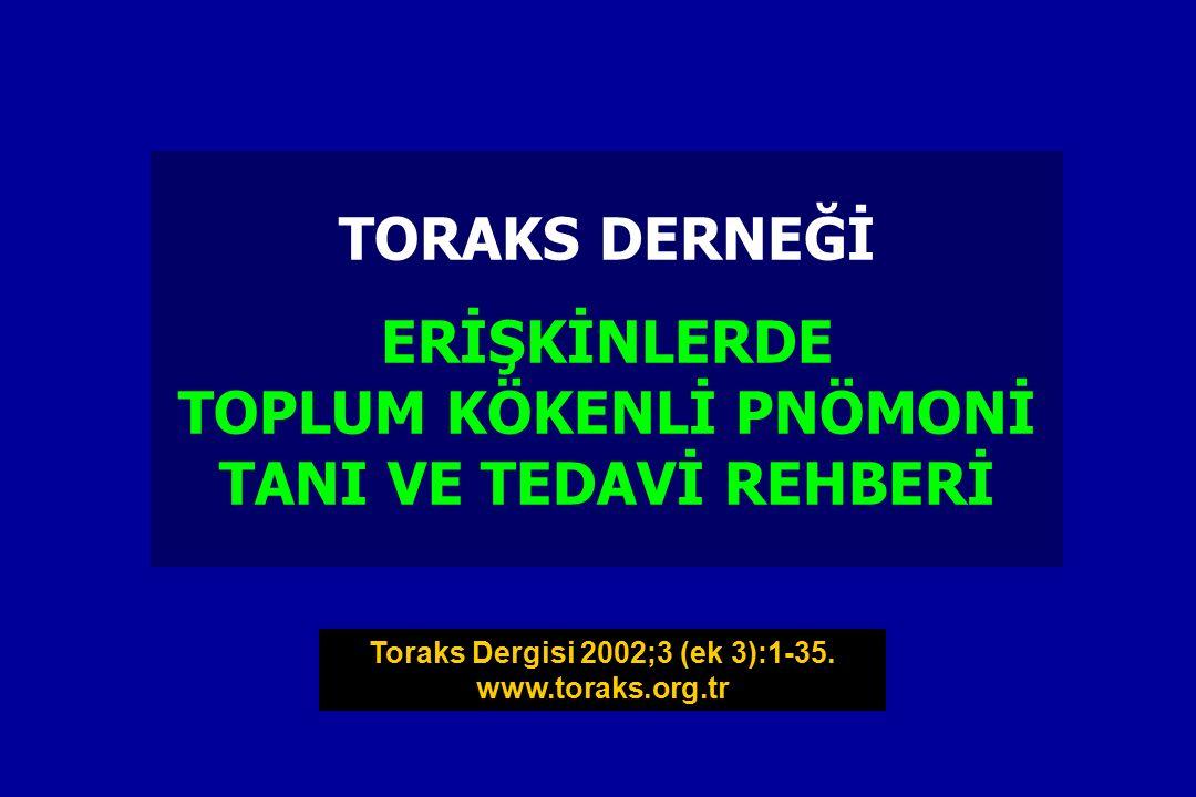 Toraks Dergisi 2002;3 (ek 3):1-35.