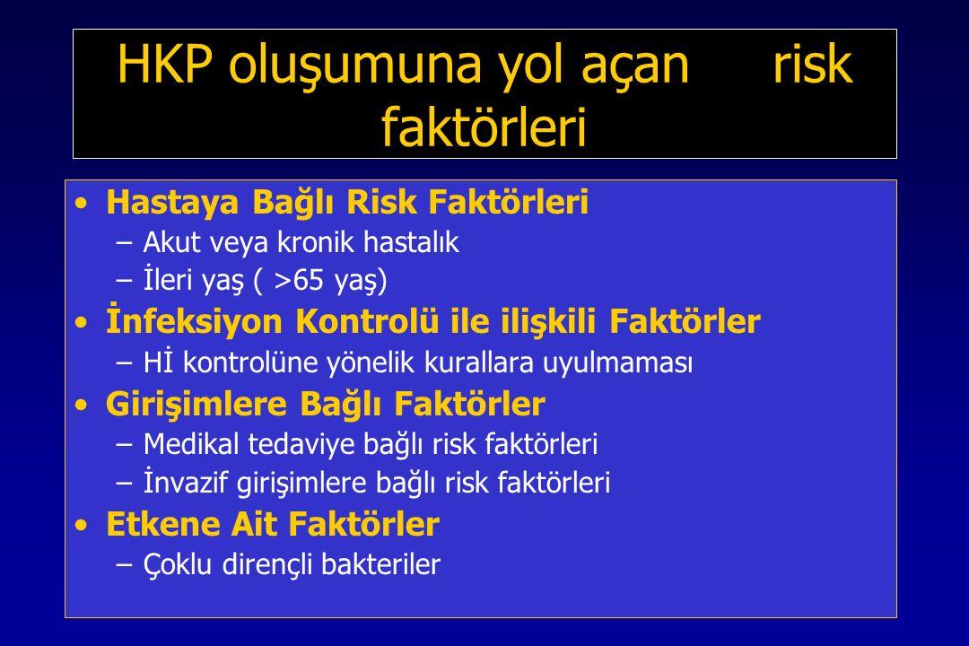 HKP oluşumuna yol açan risk faktörleri