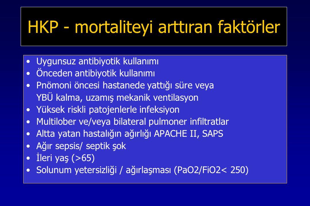 HKP - mortaliteyi arttıran faktörler