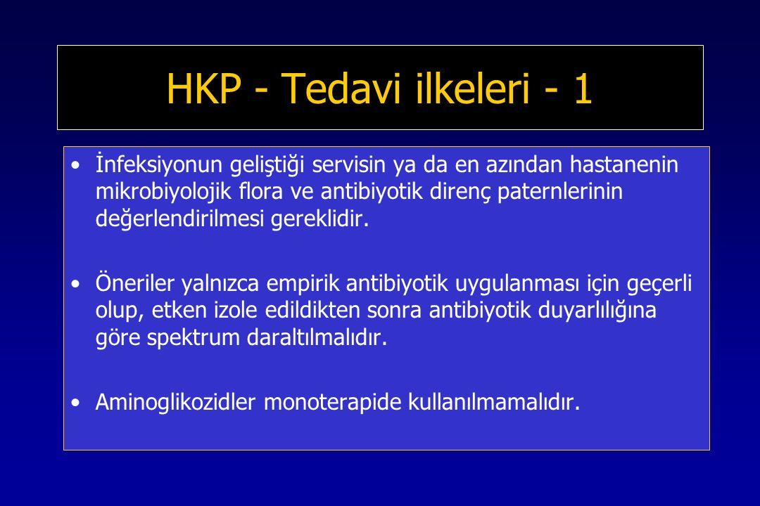 HKP - Tedavi ilkeleri - 1