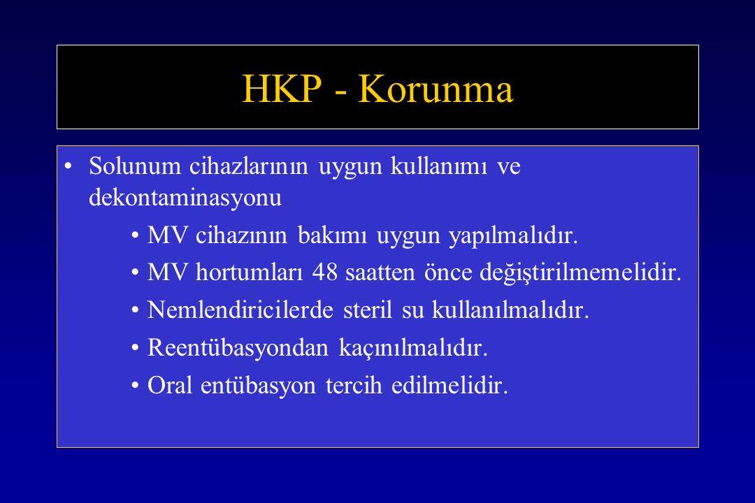 HKP - Korunma Solunum cihazlarının uygun kullanımı ve dekontaminasyonu