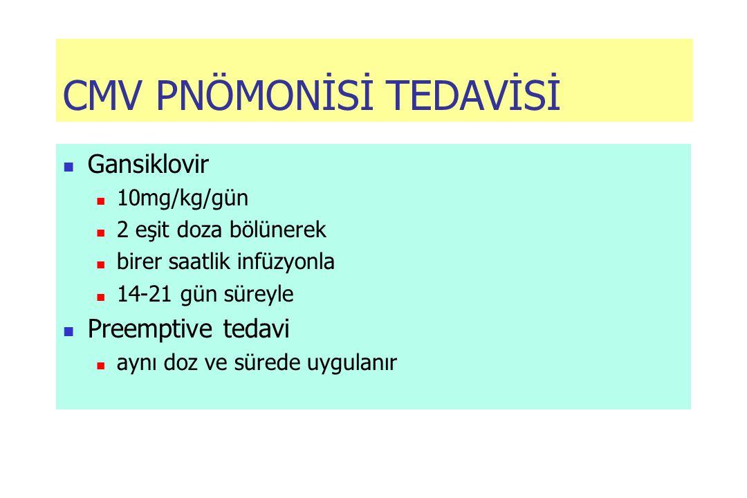 CMV PNÖMONİSİ TEDAVİSİ