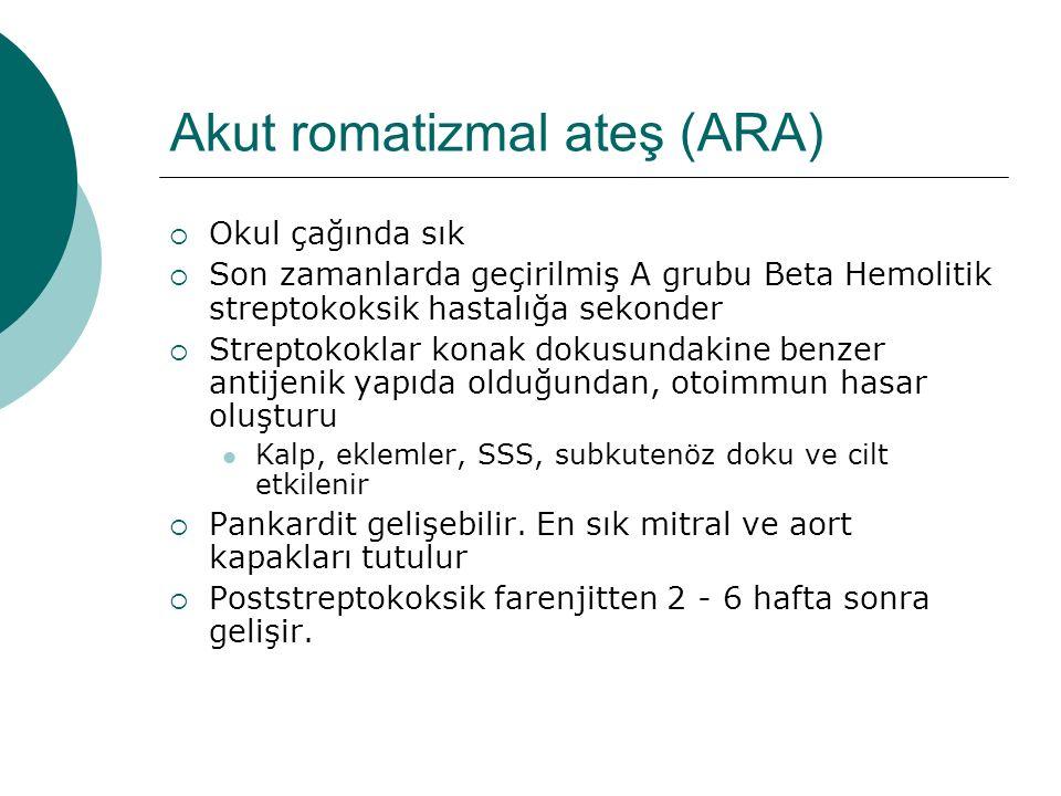 Akut romatizmal ateş (ARA)