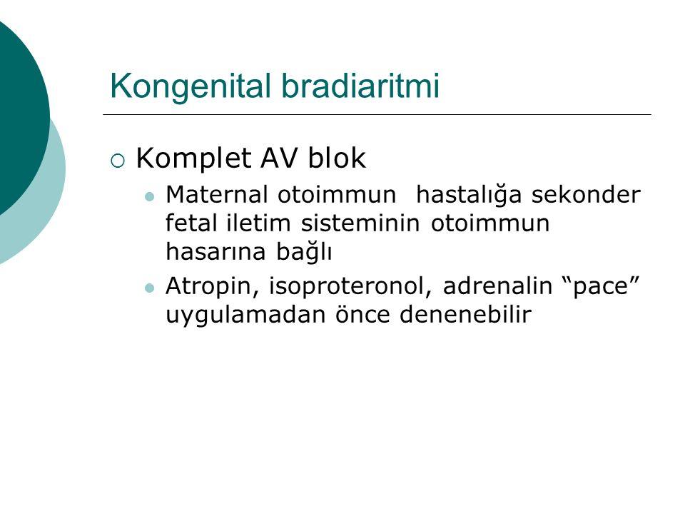 Kongenital bradiaritmi