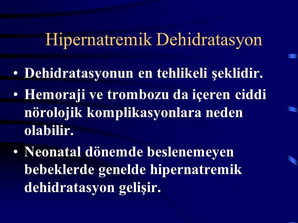 Hipernatremik Dehidratasyon