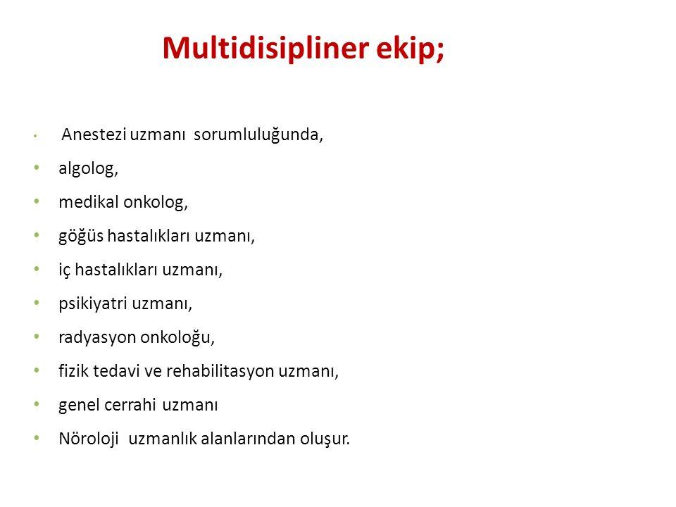 Multidisipliner ekip;