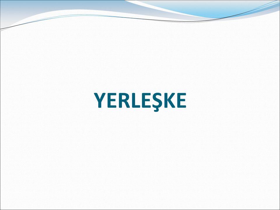 YERLEŞKE