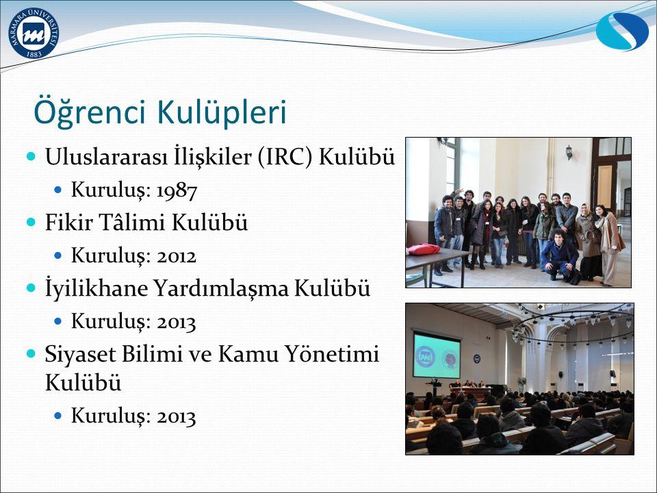 Öğrenci Kulüpleri Uluslararası İlişkiler (IRC) Kulübü