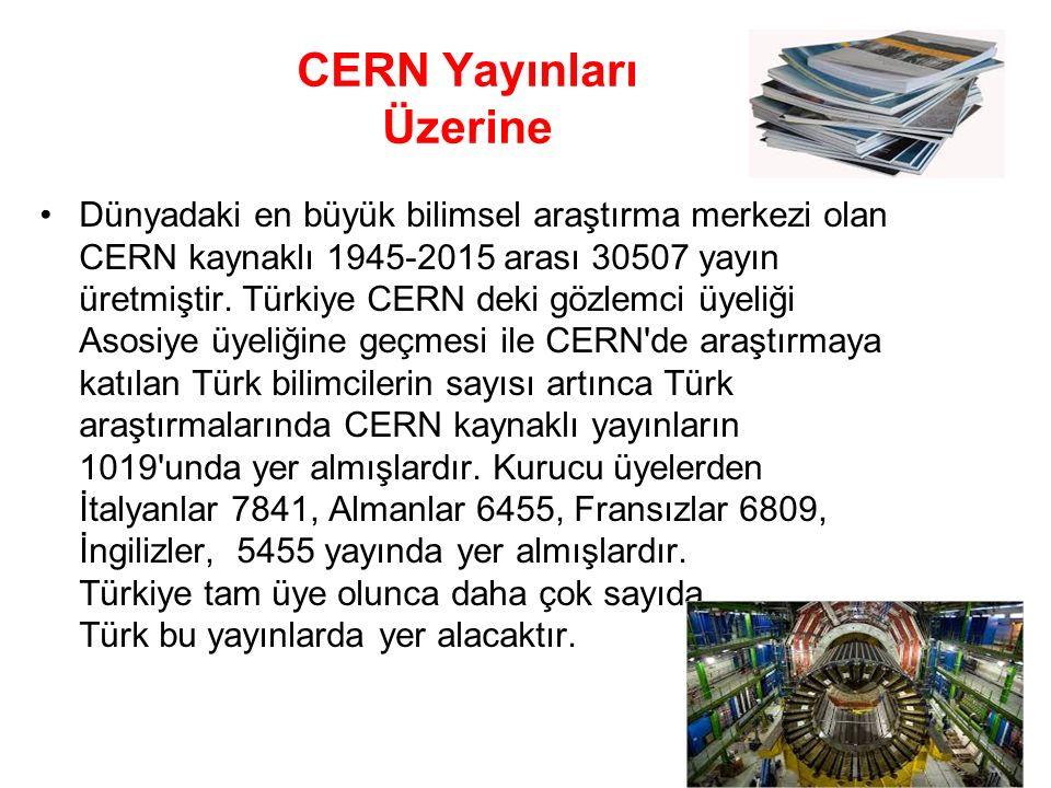 CERN Yayınları Üzerine