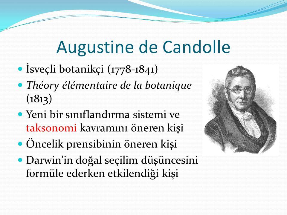 Augustine de Candolle İsveçli botanikçi (1778-1841)