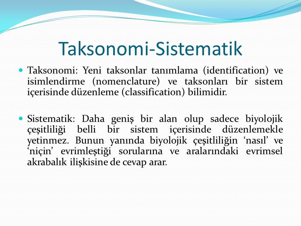 Taksonomi-Sistematik