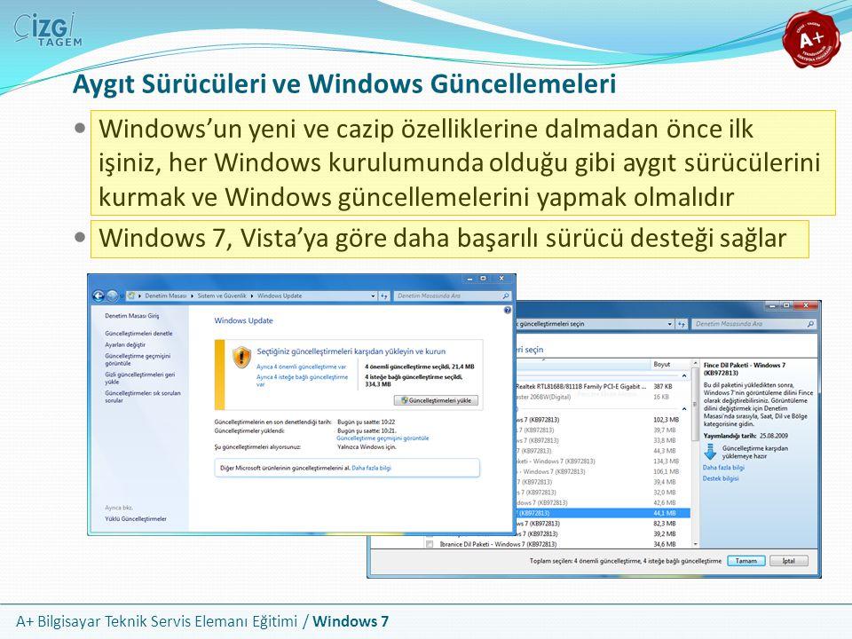 Aygıt Sürücüleri ve Windows Güncellemeleri