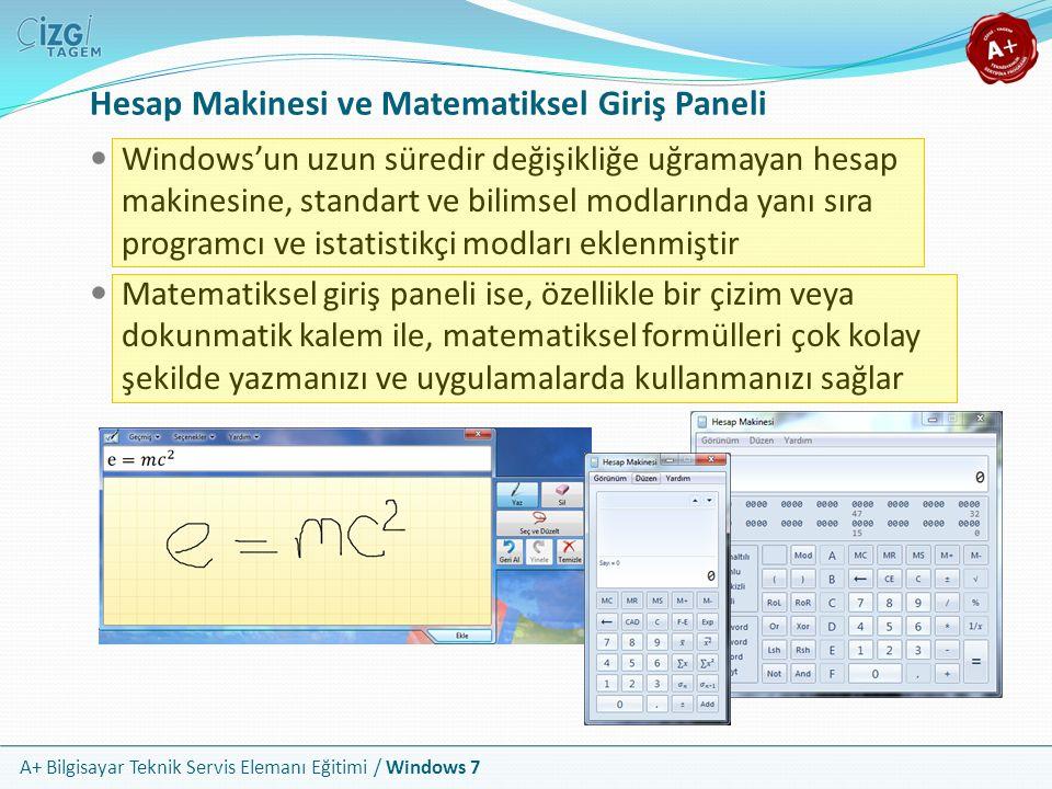 Hesap Makinesi ve Matematiksel Giriş Paneli