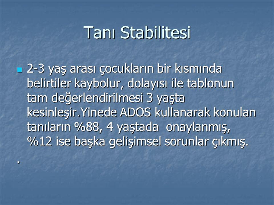 Tanı Stabilitesi