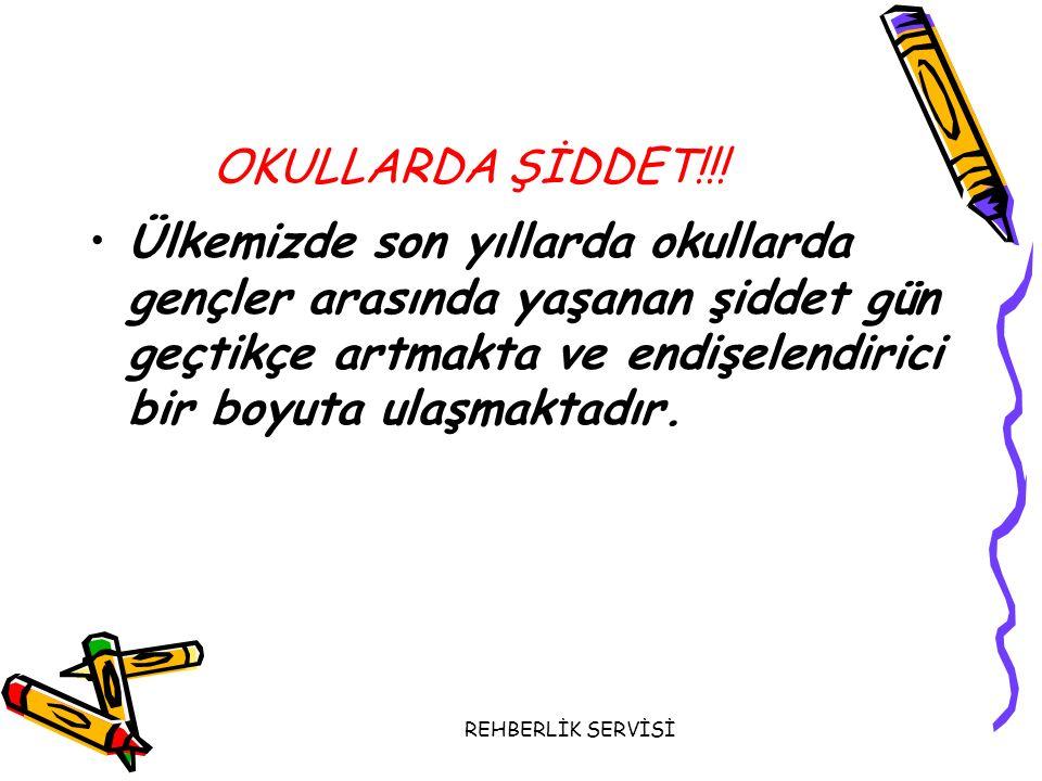 OKULLARDA ŞİDDET!!!