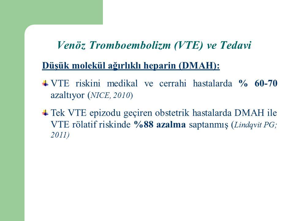 Venöz Tromboembolizm (VTE) ve Tedavi