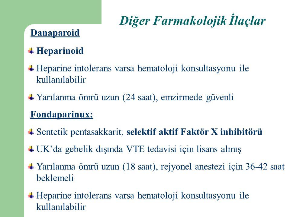 Diğer Farmakolojik İlaçlar
