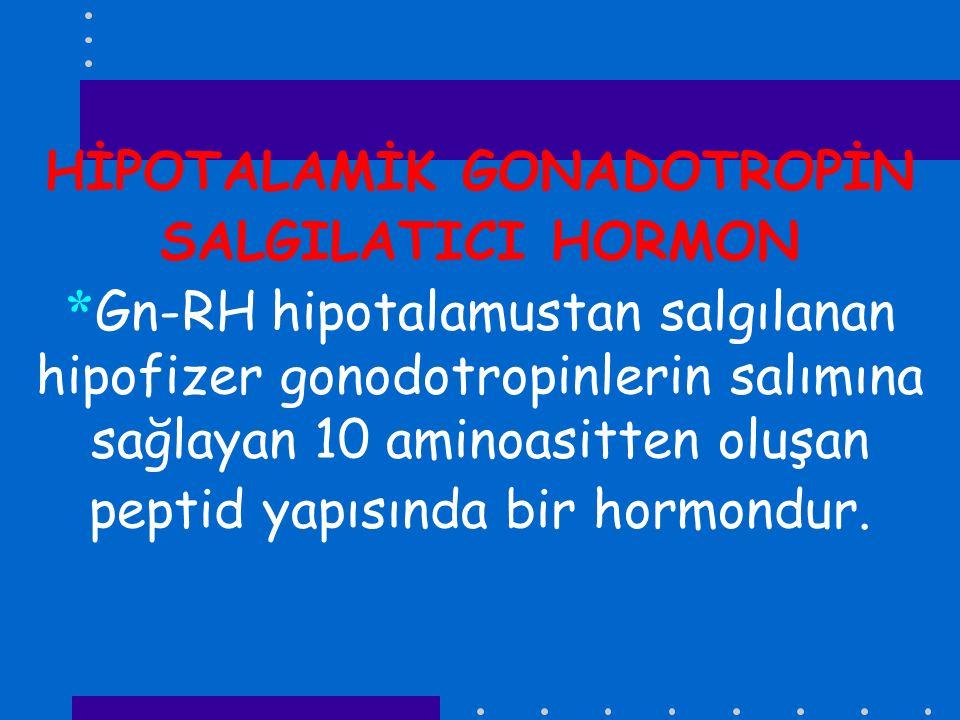 HİPOTALAMİK GONADOTROPİN SALGILATICI HORMON
