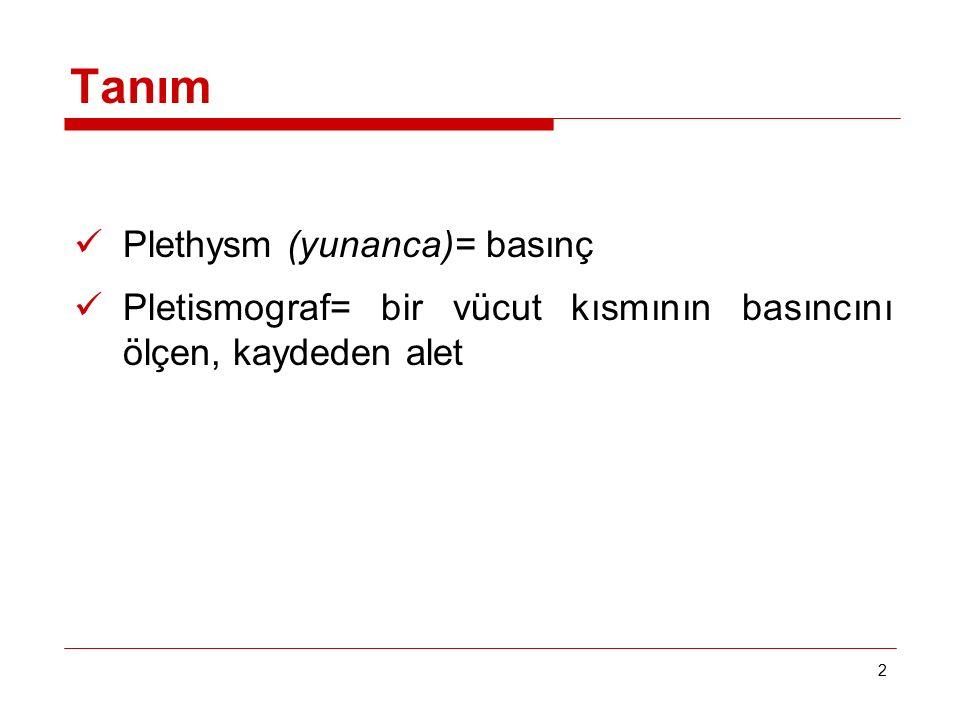 Tanım Plethysm (yunanca)= basınç