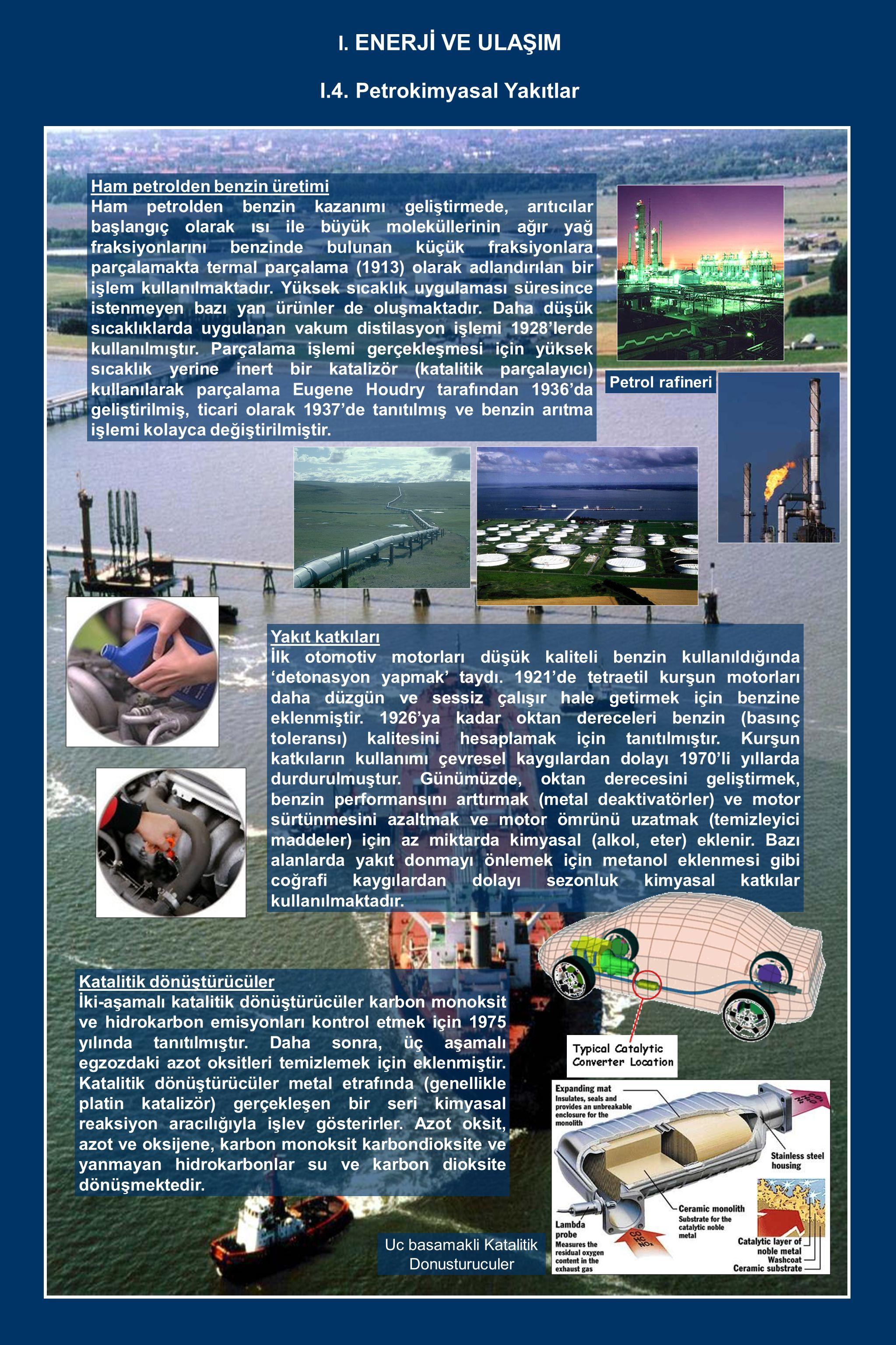 I.4. Petrokimyasal Yakıtlar